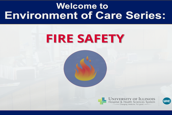 Fire Saftey Storyline Example